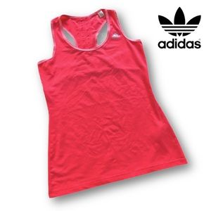 Adidas Pink Climalite Athletic Tank Top Size S EUC